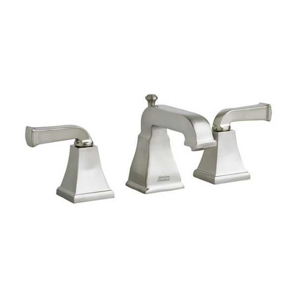 American Standard Town Square Satin Nickel Brass Widespread Bathroom Faucet