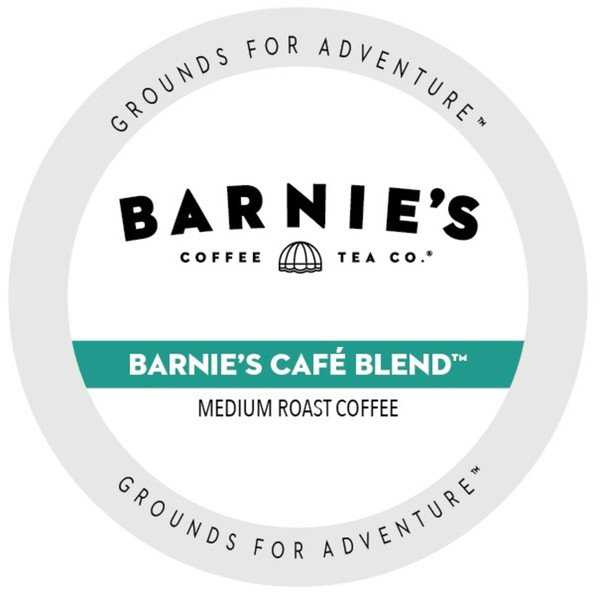 Barnie's Coffee Kitchen Barnie's Blend Single Serve Cups for Keurig Brewers 24 Count