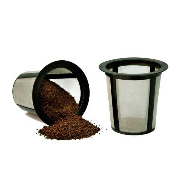 Medelco Cafe Brew Collection RK202 One All Universal Single-cup Replacement Coffee Filter; Set of 2