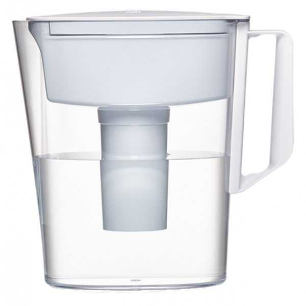 Brita 36089 Soho Pitcher with 5-Cup Capacity, White